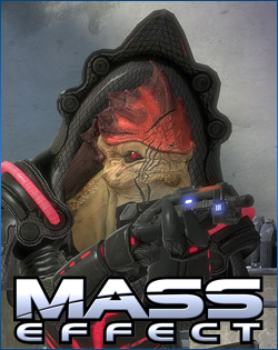 Wrex from Mass Effect