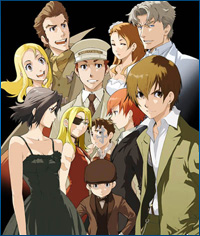 Baccano! Its pretty darn awesome.