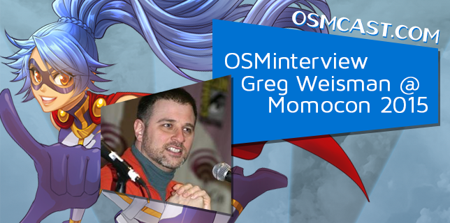 OSMinterview! Greg Weisman @ Momocon 2015