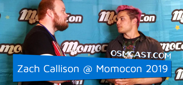 OSMinterview! Zach Callison @ Momocon 2019