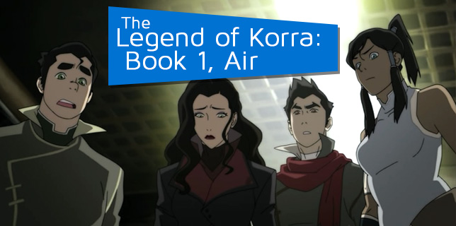 OSMcast! The Legend of Korra: Book One, Air 9-16-2013