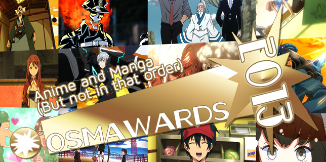 OSMcast! The 2013 OSMawards Part II: Anime and Manga (But not in that order) 1-20-2014