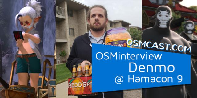 OSMinterview! Denmo Mcstronghuge @ Hamacon 9