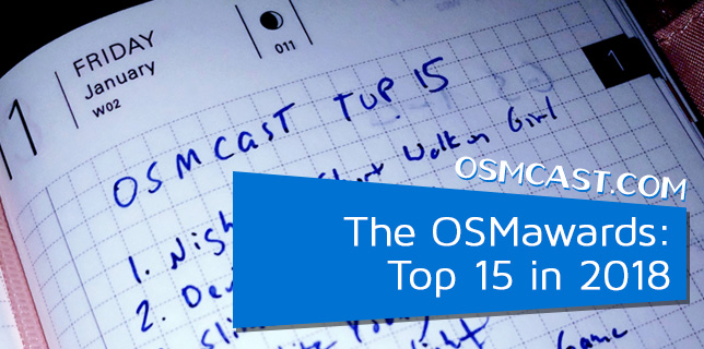 OSMcast! Show #146: The OSMawards:  Top 15 in 2018