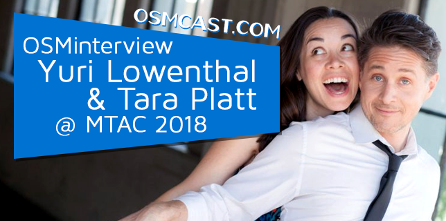 OSMinterview! Yuri Lowenthal & Tara Platt @ MTAC 18th Battalion