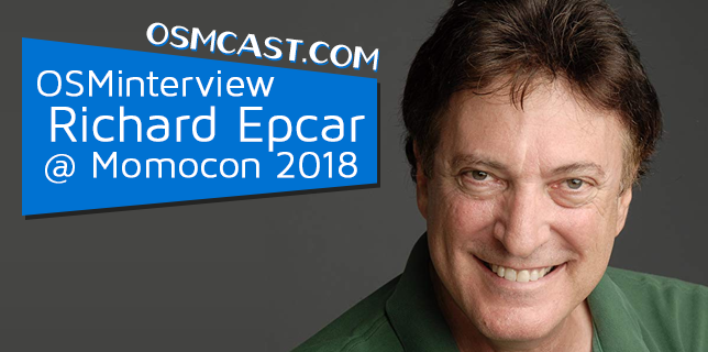 OSMinterview! Richard Epcar @ Momocon 2018