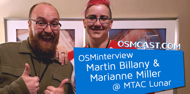 OSMinterview! Martin Billany aka LittleKuriboh and Marianne Miller @ MTAC Lunar