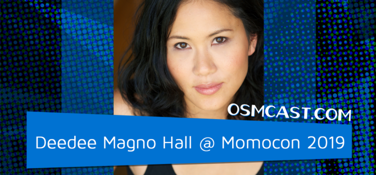 OSMinterview: Deedee Magno Hall @ Momocon 2019