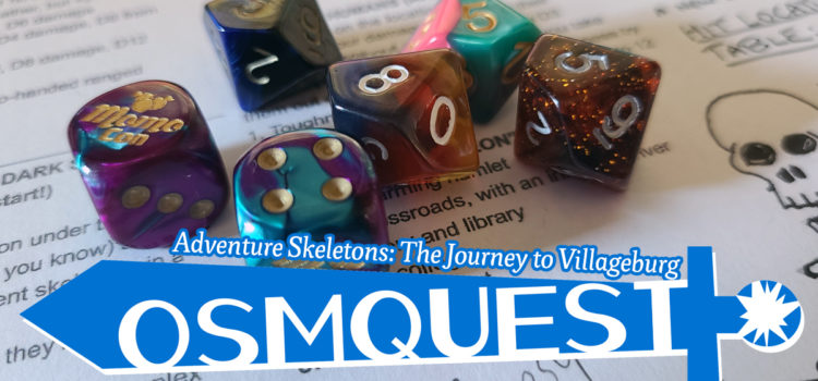 OSMquest! Adventure Skeletons: The Journey to Villageburg