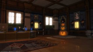 Anna did a great job getting the FC House spooky! In the Mist, Plot 2, Ward 17!
