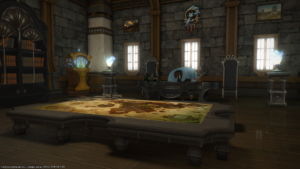 Basil has FC Room #1! It's fancy with a theme!